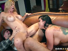 Hot Sweaty Threesome With Alexis Fawx And Romi Rain