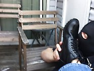 (Pov) Slave Sucks And Licks His Boss's Boots Clean