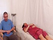 His Nurse Is A Very Beautiful Milf That Loves To Have Sex With S