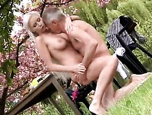 Old Hairy Mature Masturbation She Is A Real Blondie Sweethea