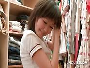 Asian Sakari Playing Dress Up Goes Naked