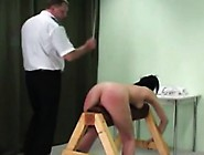 Spank That Sub's Ass To Turn Deep Red