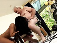 German Old And Young Threesome But The Doll Is Highly Forgiv