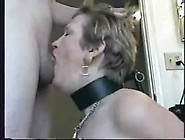 Collared Tied Up Deepthroat Hairpulling Slave