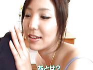 Horny Nympho Maki Kokoro Sucks A Guy Off And Makes Him Cum