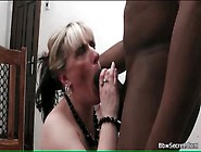 Giant Black Cock Fucks White Bbw Slut