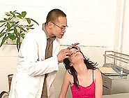 Jessie Palmer Gives A Great Handjob To A Horny Asian Doctor