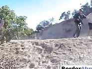 Rough Doggy Style Fucking With Big Cocked Border Agent