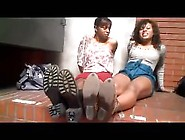 Smelly Ebony Feet Duo