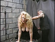 Mature Bdsm Bbw In Fishnets Gets Ass Spanked And Nipples Clamped