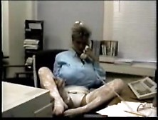 Busty Dusty At The Office