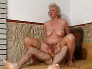 Ugly Granny With Saggy Tits Fucked Bad In A Doggy Position