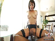 Cherry Hilson Sucks Bbc And Sits Her Pussy On It