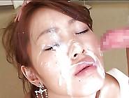 Beautiful Cumglazed Asian