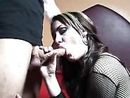 Smoking Hooker Gets Her Sweet Bald Vagina Banged Hard