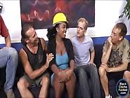 Ebony Layton Benton Facial By White Men