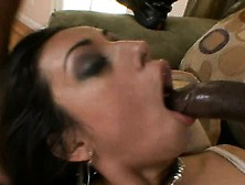 Paris Mayne Has A Huge Black Shaft Exploring Every Inch Of Her P