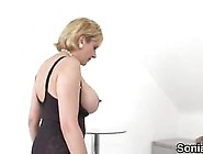 Big Boobs Lady Sonia Uses A Sex Toy