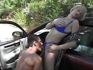 Vintage Angelique In Car