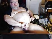 Stocky Polar Bear Cums