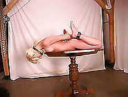 Tied Up Crissy Sparks Gets Toyed,  Pinched And Tickled