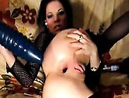 Webcam Anal Extreme Huge Dildo Anal