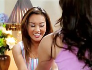 Beauty Asian With Nasty Teen