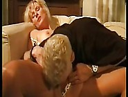 Mature German Woman With Blonde Hair Is Fucking A Younger Guy Sh