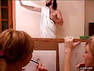 Cfnm Nude Male Model In Art Class