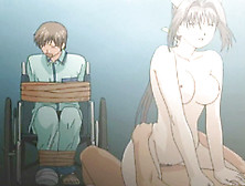 Hentai Nurse Assfucked By Doctor In Front Of Her Roped Anime
