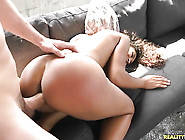 Brunette Chicana Calypsa Micca Gets Mouth Slammed The Way She Lo