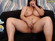 Chubby Brunette With Ohmibod