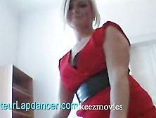Blond Czech Kitty Simona Lapdances