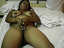 My Chubby Exotic Wife Masturbates Her Pussy In Homemade Solo