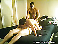 Busty Latina Jade Gets Slammed By Two Horny Freaks On Webcam