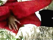 Indian Slut Outdoor In Jungle Gets Hairy Pussy Fucked By Strange