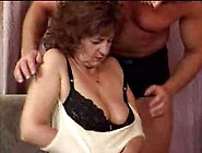 Granny In Lingerie Loves Young Man Cock