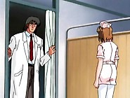 Hentai Nurse Tied Up By Doctor For Kinky Play