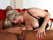 Lustful Fat Whore Serves Black Dude At The Highest Level