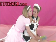 Awesome Teens With Massive Fake Dongs By A286606