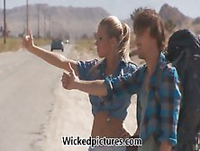 Samantha Saint Hitchhikes Her Way To A Big Dick