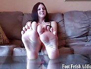 Prepare For Face Smothering With My Perfect Feet