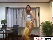 Sexy Asian Chick Dances In High Heels And Gets Screwed