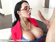 Amy Anderssen Horny At The Office
