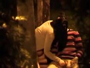 Dirty Couple Caught Fucking In A Park