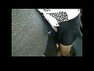 Touching Blonde Girl In Bus Bvr