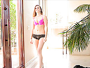 Delightful Brina Walks Naked In Her House In A Solo Model Video