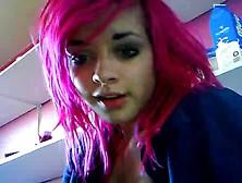 Stickam Pink Hair