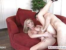 Sensual Nikki Benz gets her pussy filled with thick cock