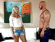 A Bored Couple Brings A Teen Slut Home And Bangs Her
